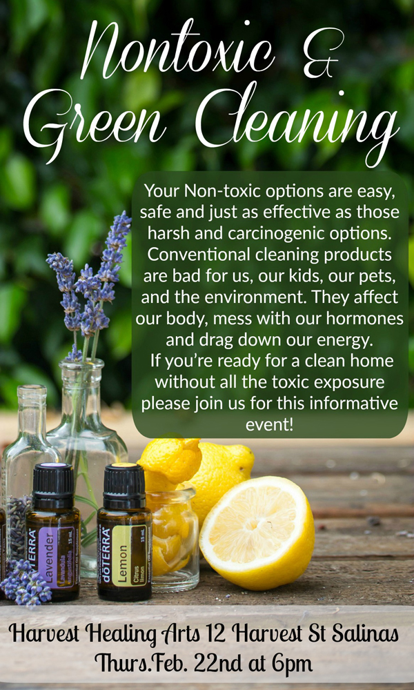 Nontoxic & Green Cleaning