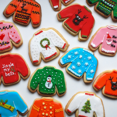 Sweater Cookies Sq